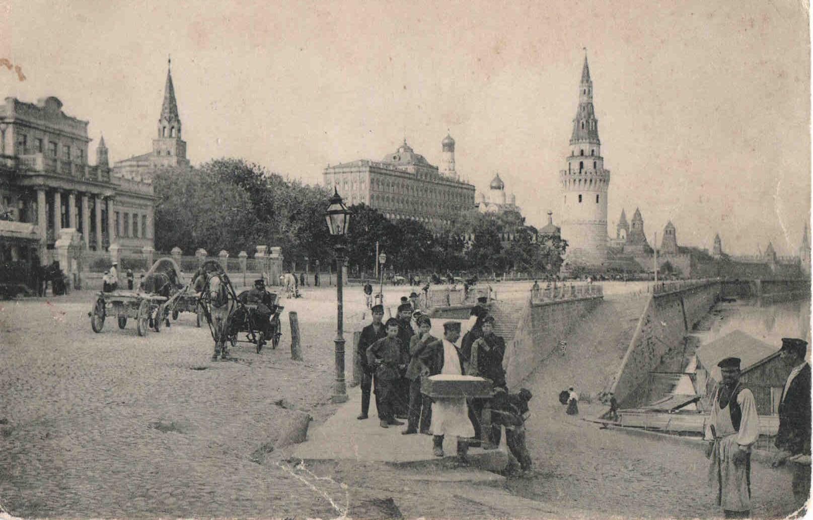 Фото старой москвы кремль 3